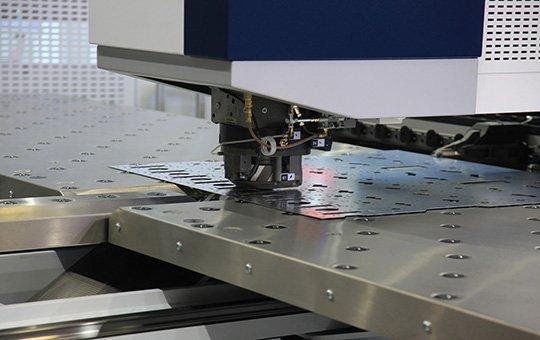 CNC punching machine - G&W Products